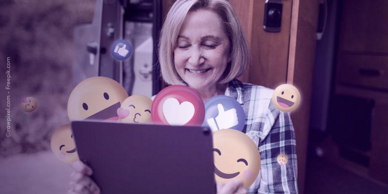 Facebook libera cinco novos botões alternativos ao 'curtir'