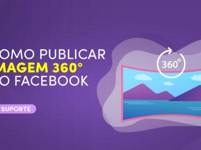 Como publicar uma imagem 360º no Facebook ?