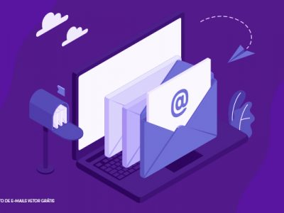 caixa de e-mail digital