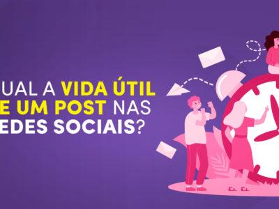 Qual a vida útil de um post nas Redes Sociais?