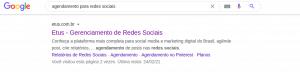 busca orgânica google