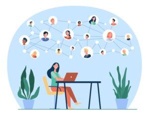 evolução das redes sociais